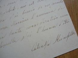 Katynka HEINEFETTER - Autographes