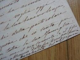 Virginie BOCCABADATI (1828-1922) Chanteuse SOPRANO Italienne. AUTOGRAPHE - Autografi