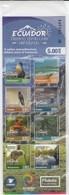 Ecuador 2018 Nature Fauna Bird Booklet Of 8v MNH - Altri