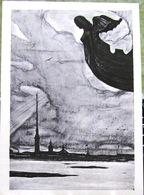 Verses Of The Block In Illustrations By I. Glazunov. St. Petersburg, Winter, Neva. Art USSR Russia Postcard - Russia