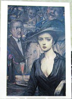 Verses Of The Block In Illustrations By I. Glazunov. Verses About The Beautiful Lady. Art USSR Russia Postcard - Women
