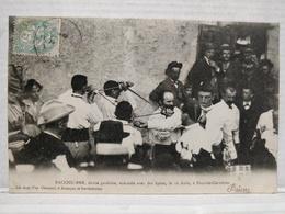 Pont-de-Cervières. Bacchu-Ber. Danse Gauloise Avec Des Epées, Le 16 Août - Briancon