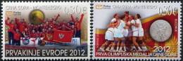 Montenegro 2012 Woman Handball, Madals, Olympic Games London, Set MNH - Montenegro