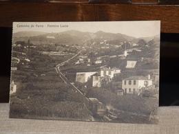 TARJETA POSTAL CAMINHO DE FERRO FERREIRO LUCTA  AK CPA - Madeira