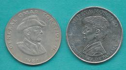 Panama - Balboa - 1984 - Torrijos (KM76) & 2004 - Canal Handover (KM134) - Panama