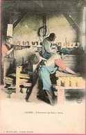 LANDES. - Fabrication Des Pots à Résine . F. Bernède, Phot., Arjuzanx (Landes) Phot. A. B.& Ce Nancy - Artisanat