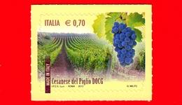 Nuovo - MNH - ITALIA - 2013 - Made In Italy: Vini DOCG - 0,70 - Cesanese Del Piglio (FR) - Lazio - 6. 1946-.. Repubblica