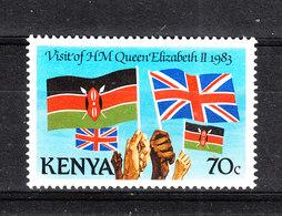 Kenya - 1983.Bandiera Kenyota Ed Inglese. Kenyan And English Flag. MNH - Francobolli