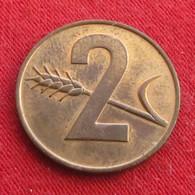 Switzerland 2 Rappen 1970 KM# 47 Suiça Suisse Svizzera Schweiz UNC - Suisse