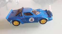 Lancia Stratos 1/43 + Fascicule N° 41 + Boitier - Solido