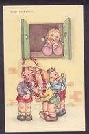 Q0116 - Sérénade D'amour - Humour Enfants Illustrateur Harmonica - Humour
