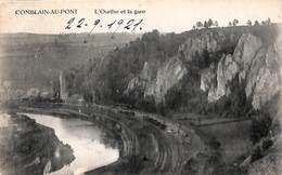 Comblain-au-Pont - L'Ourthe Et La Gare (1921, E. Delhaze) - Comblain-au-Pont