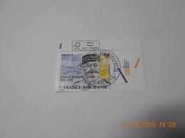 FRANCE 2018    FRANCE - ROUMANIE Général BERTHELOT  Beau Cachet  Rond Sur Timbre Neuf  Coin De Feuille - France