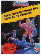 Maîtres De L'Univers - Catalogue Figurines 1985 - 16 Pages - Etat Impeccable ! - Figurines