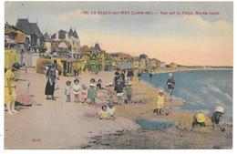 44 - LA BAULE Sur MER - Vue Sur La Plage, Marée Haute - Ed. F. Chapeau N° 1790 Colorisée - La Baule-Escoublac