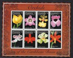 DOMINIQUE - DOMINICA - BLOC-FEUILLET - SOUVENIR SHEET - FLOWERS - FLEURS - 1999 - - Dominique (1978-...)