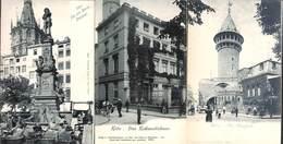Koeln - Lot Of 3 Postcards (Richmodishaus Von Werth-Denkmal Ulrephorte Animation) - Koeln