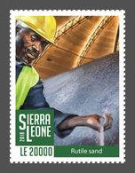 SIERRA LEONE 2018 - Rutile (Titanium Dioxide), 1v. Definitive Stamps - Sierra Leone (1961-...)