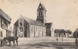 + 50 CPA Rémilly Sur Lozon - Place De L'église + - Saint Lo