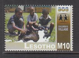 2002 Lesotho SOS Childrens Villages Orphans Complete Set Of 1 MNH - Lesotho (1966-...)