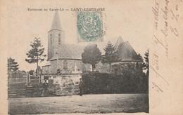 + 50 CPA Environs De Saint Lô - Saint Romphaire (l'église) + - Saint Lo