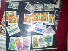 Lot Stamps Macau Colonia Portuguesa 1982 ** - Briefmarken