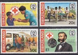 Swaziland - 1982 - Baphalali Red Cross Society - Swaziland (1968-...)
