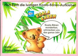 Sticker - Koala Beren - Koala-Bären Wunderbar,Schmecken Uns Das Ganze Jahr - Autocollants