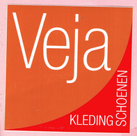 Sticker - Veja - Kleding - Schoenen - Merksplas - Autocollants