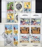 Olympia Mexico 1968 Tchad 325/7,328/9+380 Kleinbogen O 21€ Staffel-Lauf Hürde Reiten Athletic Sheetlets Bf Olympic - Summer 1968: Mexico City