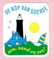 Sticker - DE KOP VAN GOEREE - Zon Zand En Zee! - Autocollants