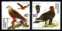 Armenia, 1995, Birds, Set, MNH, Mi# 246/47 - Arménie