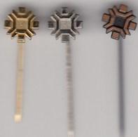 3 Pins Pin Badge Anstecknadel  Winter Olympic Games Sarajevo 1984 84 Bosnia Yugoslavia Olympics Olympia - Olympic Games