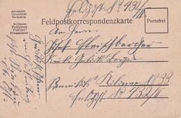 Feldpostkarte  Riedau Nach Feldpost 432 - 1917 (38570) - Briefe U. Dokumente
