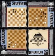 Armenia, 2006, 32nd Chess Olympiade - Yerevan, Set, MNH, Mi# 293/96A - Arménie