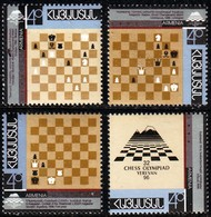 Armenia, 2006, 32nd Chess Olympiade - Yerevan, Set, MNH, Mi# 293/96A - Armenia