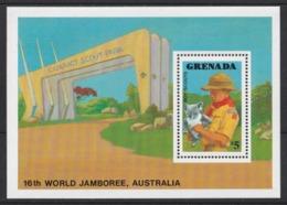 1988 Grenada Scout Scouting Scoutisme Overprinted  MNH** Sc104 - Padvinderij