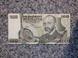 B00176# AUSRIA 100 SHILLING 1984 BANKNOTE - Oesterreich