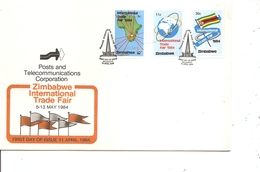Zimbabwe  ( FDC De 1984 à Voir) - Zimbabwe (1980-...)