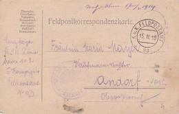 Feldpostkarte - K.u.k. Pionierbaon 2, 5. Komp. Nach Andorf - 1915 (38573) - 1850-1918 Imperium
