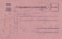 Feldpostkarte - K.k. Eis. Sich Komp. No. 2 - Feldpost 192 -  Nach Wien - 1918 (38578) - 1850-1918 Imperium