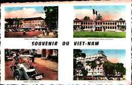 74995BIS) CARTOLINA DEL VIET- NAMI-VARIE VEDUTE-NUOVA - Vietnam