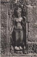 CPSM Cambodge - Angkor - Devêta - Divinité Féminine - Cambodia
