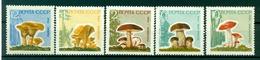 URSS 1964 - Y & T N. 2880/84 - Champignons Divers - 1923-1991 UdSSR