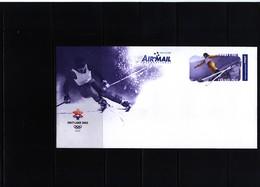 Australia 2002 Olympic Games Salt Lake City Postal Stationery - Winter 2002: Salt Lake City