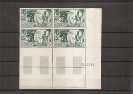 AEF - UPU ( PA 54 En Coin Daté XXX -MNH) - A.E.F. (1936-1958)