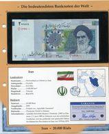 IRAN BILLET NEUF DE 20.000 RIALS DE 2005 AVEC CERTIFICAT - Iran