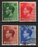 GRAN BRETAGNA - 1936 -EFFIGIE DEL RE EDOARDO VIII - USATI - Usati
