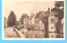 Brugge-Bruges-Groene Rei-Paardbrug-Quai Vert -Pont Du Cheval-Edit.ALBERT-Phototypie A.Dohmen, Bruxelles - Brugge