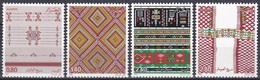 Algerien Algeria 1985 Kunsthandwerk Handicrafts Kultur Culture Teppichknüpfer Teppiche Carpets, Mi. 896-9 ** - Algerien (1962-...)